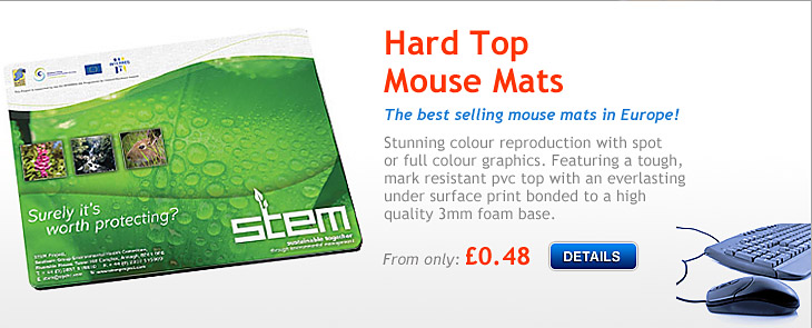 Hard Top Mouse Mats