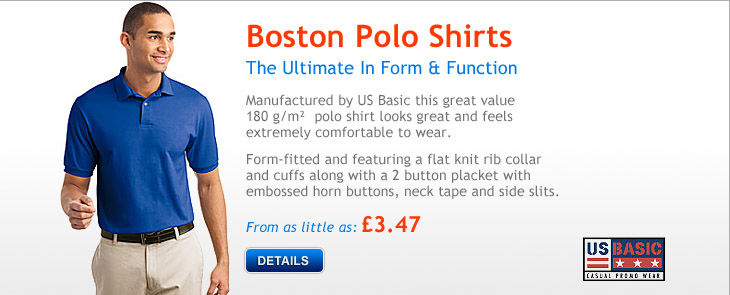 Boston Polo Shirts